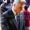 Head coach Bruce Weber walks off the court downcast after the Wildcats lost a game they should have won against a depleted Texas team coming off a four game losing streak February 7, 2015, in Bramlage Coliseum. The Wildcats' own losing streak now extends four games, and with a 12-11 overall record, they have almost no hope of making it to the NCAA Tournament come March. (Parker Robb | The Collegian)