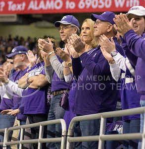 K-State fans at the 2015 Alamo Bowl game against UCLA on Jan. 2, 2015. (George Walker | The Collegian)