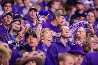 K-State fans during the 2015 Alamo Bowl game against UCLA on Jan. 2, 2015. (George Walker | The Collegian)