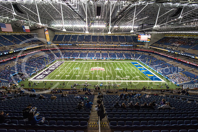 The K-State vs. UCLA game was the 22nd Alamo Bowl game at the Alamo Dome in San Antonio on Jan. 2, 2015.  (Rodney Dimick | The Collegian)