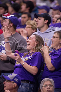 K-State fans cheer during the 2015 Alamo Bowl game against UCLA on Jan. 2, 2015. (George Walker | The Collegian)