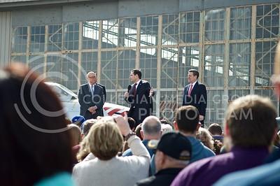 Macro Rubio spoke at a small rally in Topeka, Kansas on Mar. 4, 2016. (Austin Fuller | The Collegian)