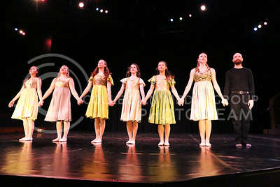 "Dancers performed ""Songs from Europe"" in the Mark Chapman Theatre during the dress rehearsal of Winter Dance on Dec, 1, 2015. (Rachael Cunningham 