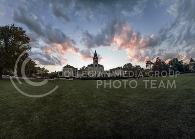 Sunset on Anderson Lawn, Sept. 16. (Nathan Jones | The Collegian)