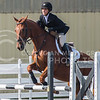 Junior hunter Christina Martinelli competes Equitation over Fences on Oct. 9, 2015 at Timbercreek Stables in Manhattan.  OSU won against KSU 13-7.  (Rodney Dimick | The The Collegian)