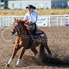 Sophomore western Brynn Critcher makes Cowboy put on the brakes in the Reining competition against OSU on Oct. 9, 2015 at Timbercreek Stables in Manhattan.  Critcher scores against OSU even though KSU lost 13-7.  (Rodney Dimick | The Collegian)