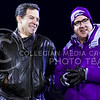 Kansas Governor Sam Brownback (left) chats with K-State President Kirk Schulz on the sideline of Kivisto Field during the fourth quarter of the Sunflower Showdown Nov. 28, 2015, in Memorial Stadium in Lawrence, Kansas. (Parker Robb | The Collegian)