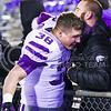 The K-State Wildcats defeated the Kansas Jayhawks 45-14 in the 113th annual Sunflower Showdown Nov. 28, 2015, in Memorial Stadium in Lawrence, Kansas. (Parker Robb | The Collegian)