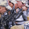 Fort Riley soldiers do as many pushups as points K-State has scored following Joe Hubener's 34-yard touchdown run in the fourth quarter of the Wildcats' 24-31 loss to the No. 2 Bears Nov. 5, 2015, in Bill Snyder Family Stadium. Hubener rushed for 153 yards and two touchdowns against the Bears. (Parker Robb | The Collegian)