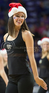A Classy Cat member peforms at halftime of the game against Coppin State University on Dec. 9, 2015 at Bramlage Coliseum.  (Rodney Dimick | The Collegian)