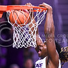 Senior forward D.J. Johnson slams home a dunk in the second half of the Wildcats' 69-64 win over Ole Miss in their Big 12-SEC Challenge game Jan. 30, 2016, in Bramlage Coliseum. When freshman guard Kamau Stokes injured his knee and was forced to leave the game, Johnson stepped in to fill the void left by the starter, scoring a team-high 14 points and 7 rebounds, as well as two steals and a block, most in the second half. (Parker Robb | The Collegian)