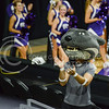 Willie the Wildcat helps the crowd get in the volleyball spirit on Sept. 4, 2015 in Bramlage Coliseum.  (Rodney Dimick | The Collegian)