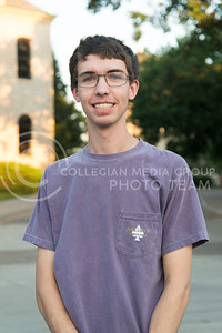 """Chris Graves, junior in mechanical engineering """"Right now pokemon go. Thats about it.""""  (Evert Nelson 