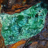 Silver Hill malachite, collected by Chuck. FOV 20mm