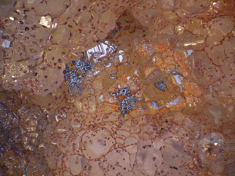 McCracken mine cerrusite, hematite & quartz