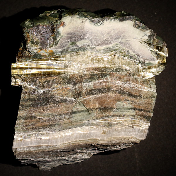 Chrysotile in Serpentine