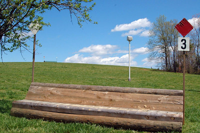Cross-country Course at FENCE, April 2009