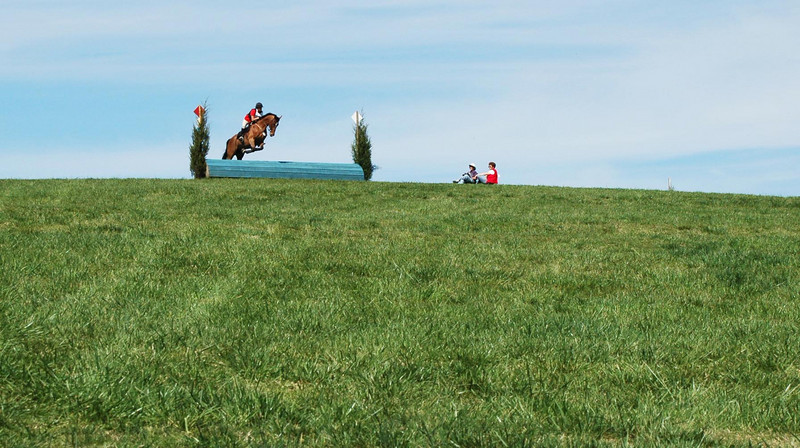 Hilltop Jump, FENCE Horse Trials, April 2009
