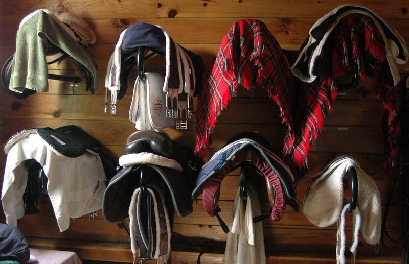 Tack Room Saddles