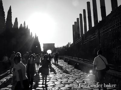 Via Sacra, Romam Forum, Rome