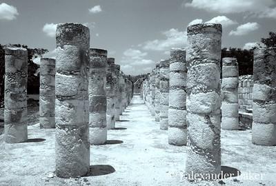 Columns, Chitzen Itza