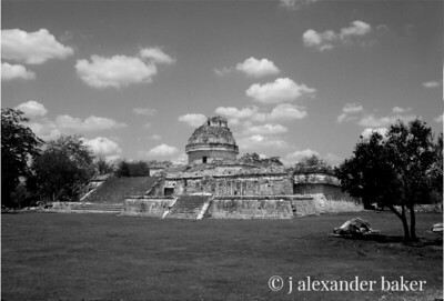 Mayan Observatory Chitzen Itza