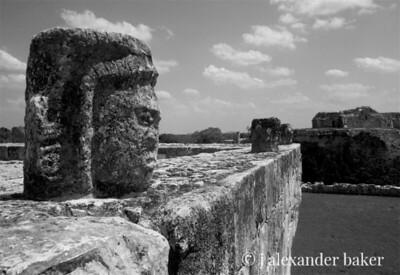 Mayan Head - Chitzen Itza