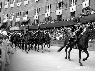 At the provo of the Palio