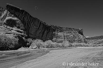 Canyon Wall, Canyon De Chelly