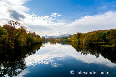 View of James River, Blue Ridge Parkway, Virginia