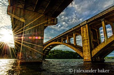 HDR Bridges without blur