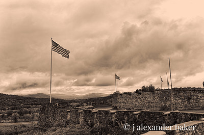 Fort Ticonderoga, Lake Champlain, New York