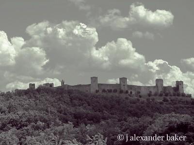 Monteriggioni, Tuscan Hill Town, Italy