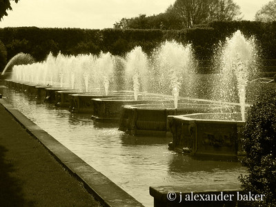 Fountains, Longwood Gardens, Philadelphia, PA