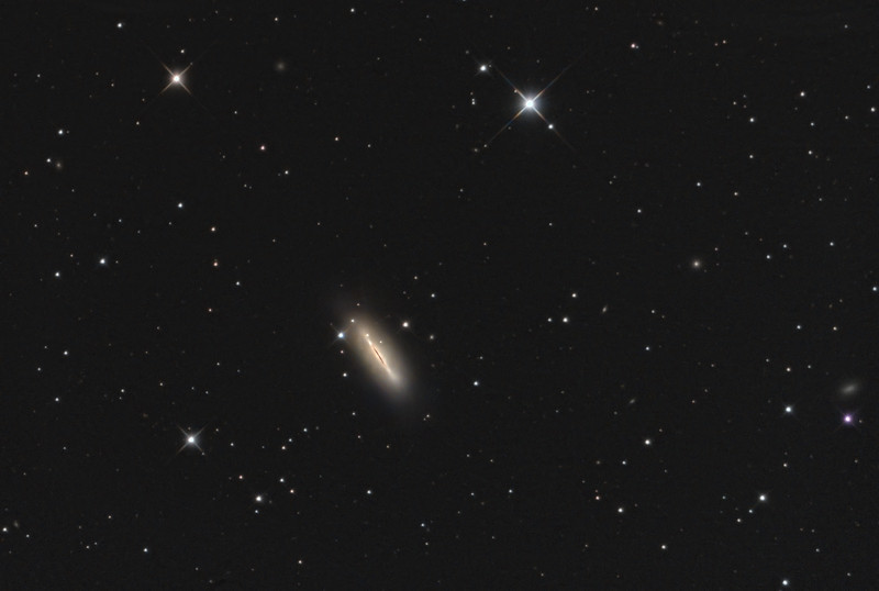 M102 The Spindle Galaxy, a lenticular galaxy in Draco