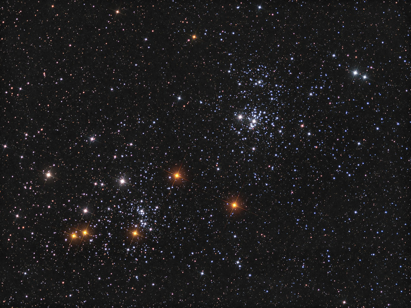 NGC 869 double open cluster