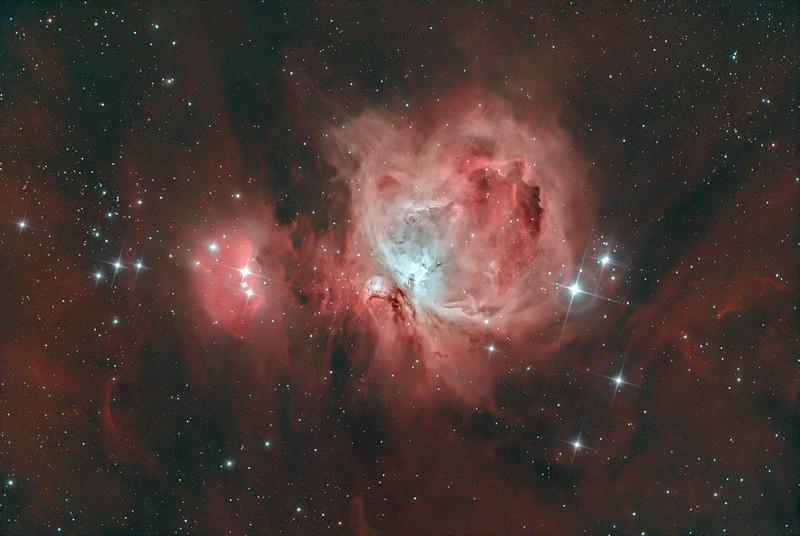 M42 Great Orion Nebula in HOO