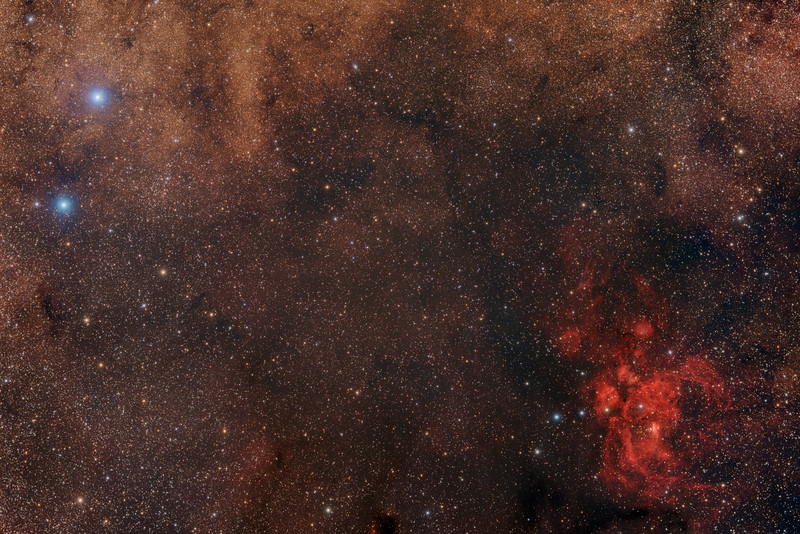 NGC 6357 Lobster Nebula