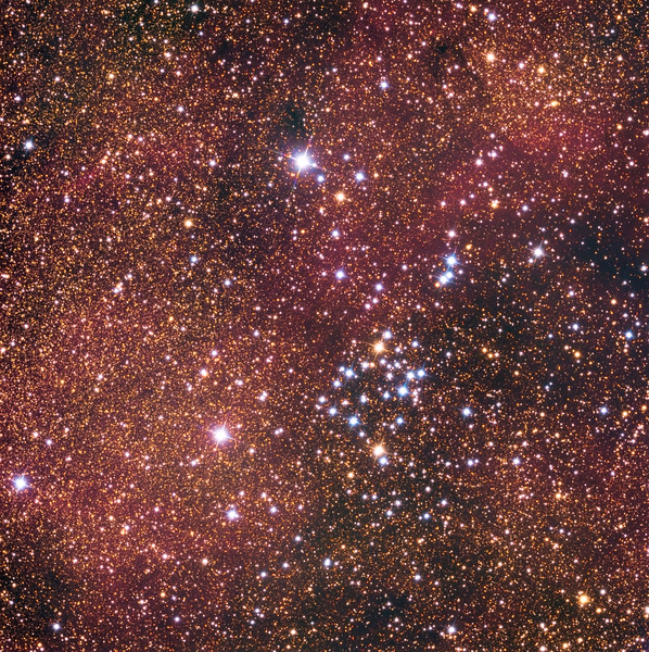 NGC 6281 open star cluster in Scorpius