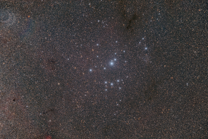 IC 2602 Southern Pleiades Cluster