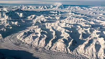 Somewhere over Alaska
