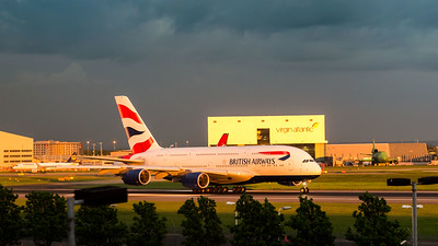 London Heathrow Airbus A380