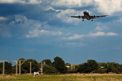 Airbus A300. Heathrow 2009.