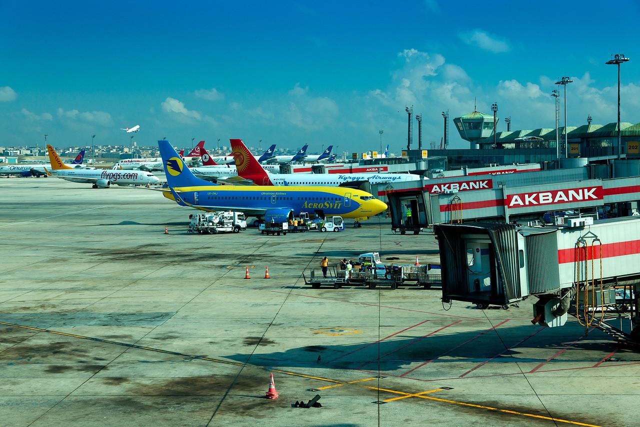 Istanbul Ataturk Airport.
