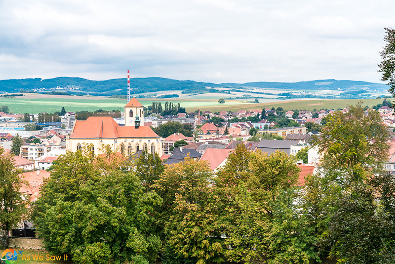 Moravian city and countryside of eastern Czechia