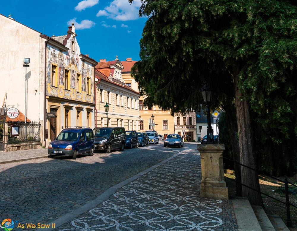 Street in Kutna Hora