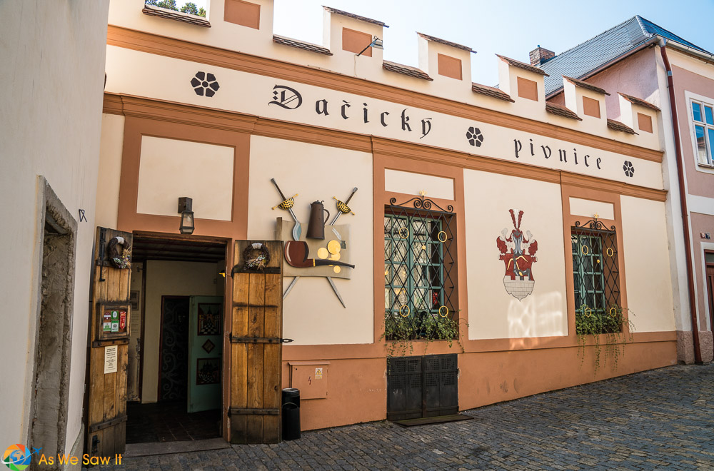 Restaurant Dacicky, a Kutna Hora landmark
