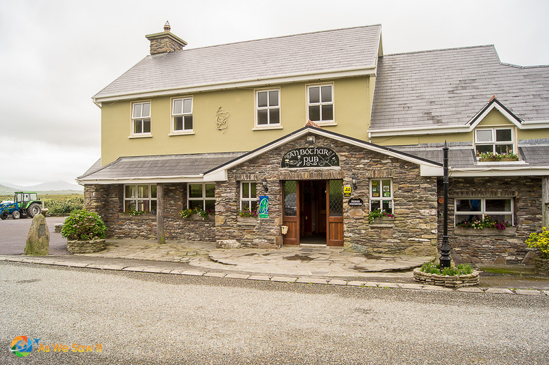 An Bochar Pub on Dingle Peninsula