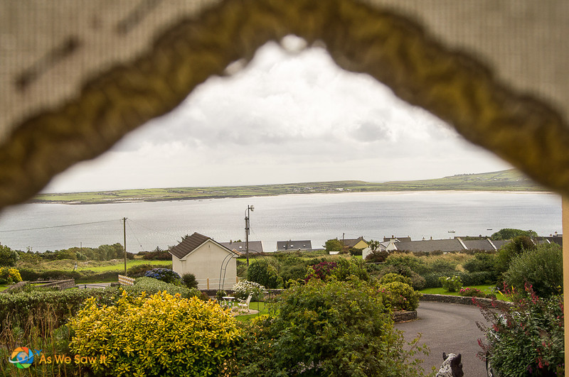 small town of Ventry on Dingle peninsula