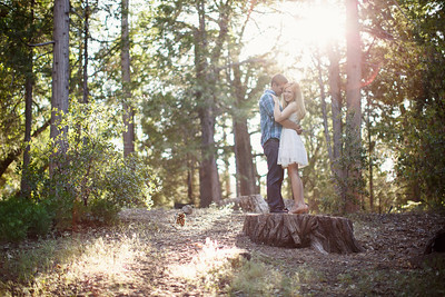 Calvin & Sara - Palomar Mountain Engagement Session 021